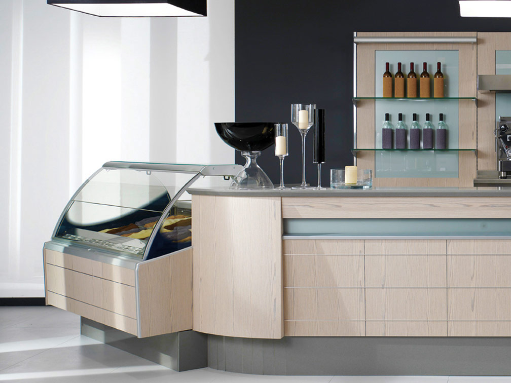 Oscartek Counter Systems Food Service Front Back Bar