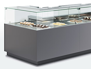 Oscartek Display Cases Gelato Pastry Deli Pre Packaged